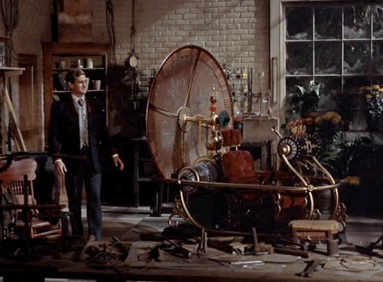 time machine 1960 film The Future Looks Different: A Radical Break in Representations of Science
