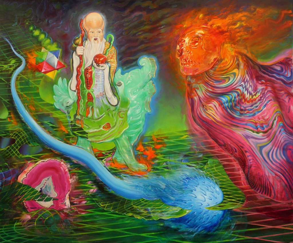 Sentient Beings - oil on canvas - 63 x 76 inches - 2015